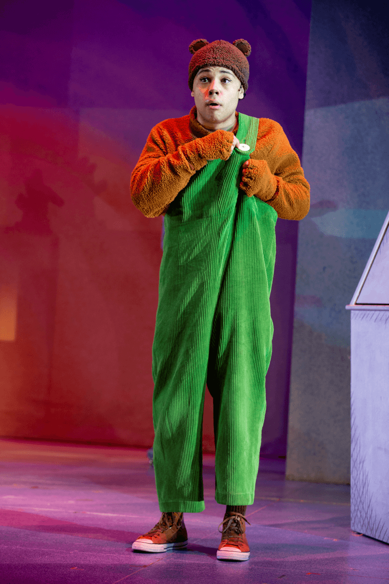 Chip Sherman in SCT's 2019 production of Corduroy. Photo by Angela Sterling.